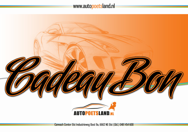 autopoetsland-cadeau-bon