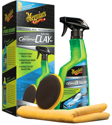 Meguiars Hybrid Ceramic Clay Kit