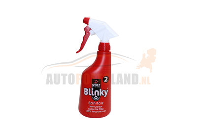 Blinky Ecotabs Sanitair reiniger herbruikbare fles