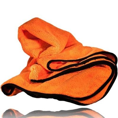 ORANGE ORANGUTAN MICROFIBER TOWEL CAR DRYER