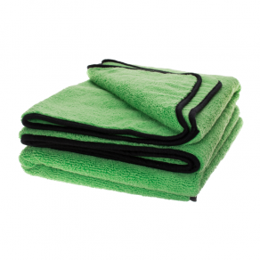 Green SCRATCHLESS Microfibre Drying Towel, 60x90cm