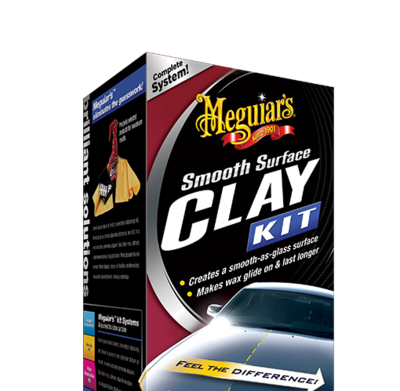 Meguiar's Smooth SurfaceClay Kit 473ML, 2*80G