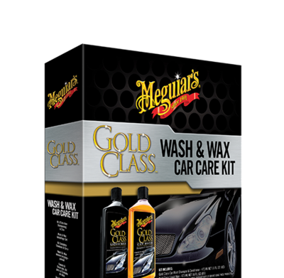 Meguiar's Gold Class Wash & Wax Car Care Kit