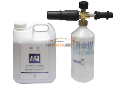 Autoglym foaming carwash kit