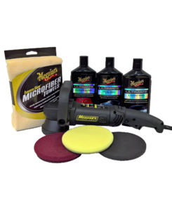 ULTIMATE MEGUIAR'S DUAL ACTION POLISHER KIT